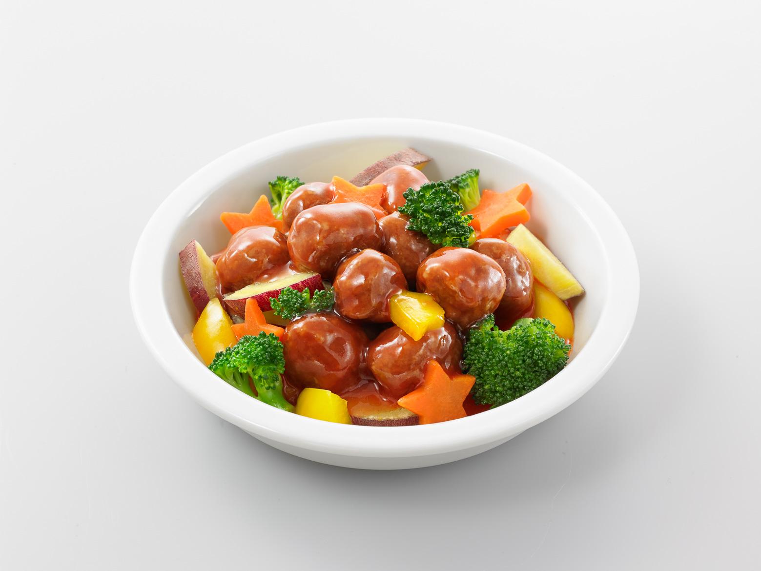 イシイのミートボール温野菜