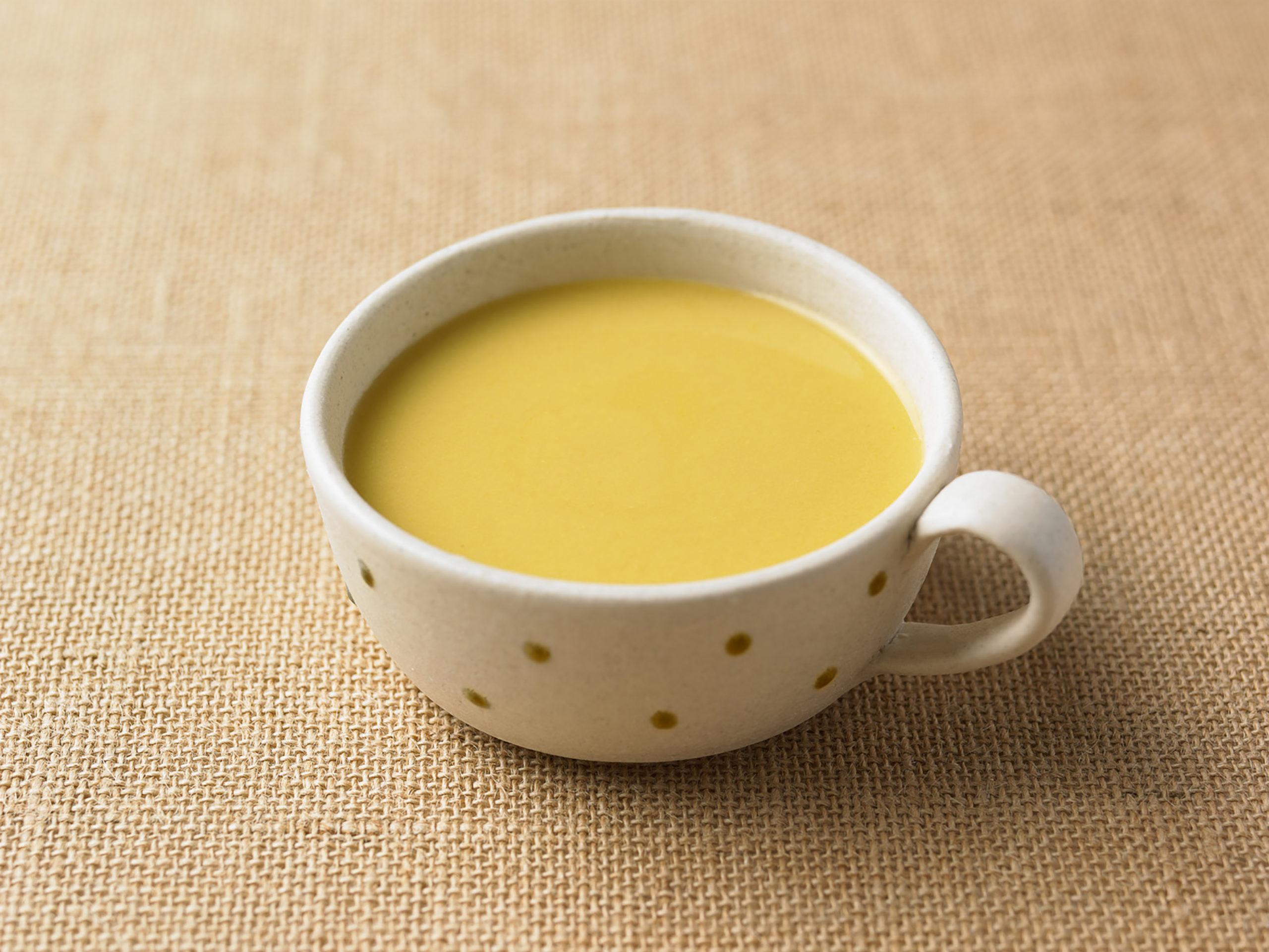いっしょがいいね とうもろこしのスープ