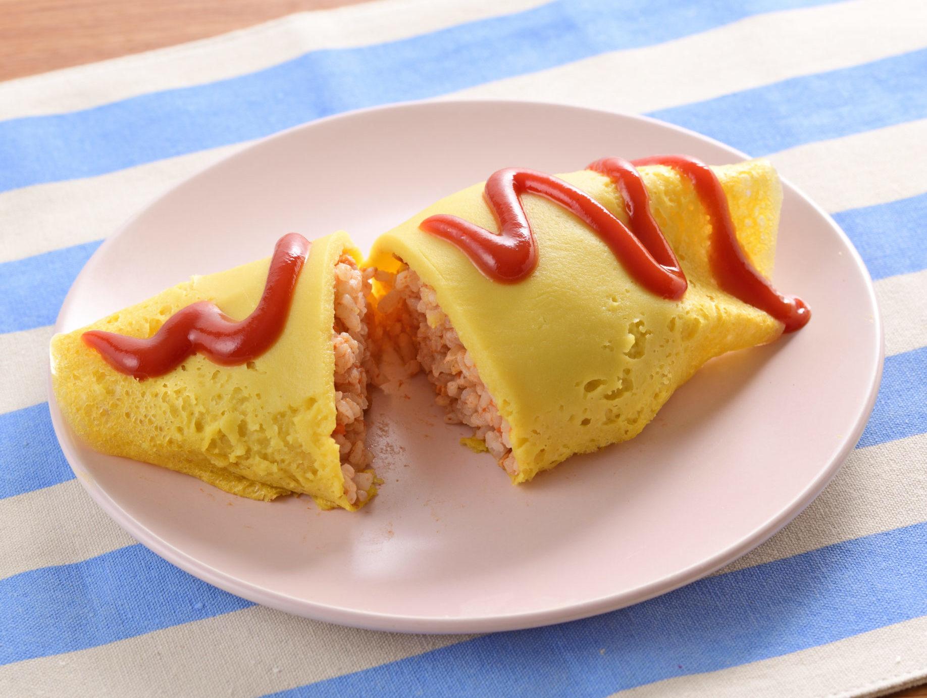 卵・乳成分不使用 オムライス風チキンライス