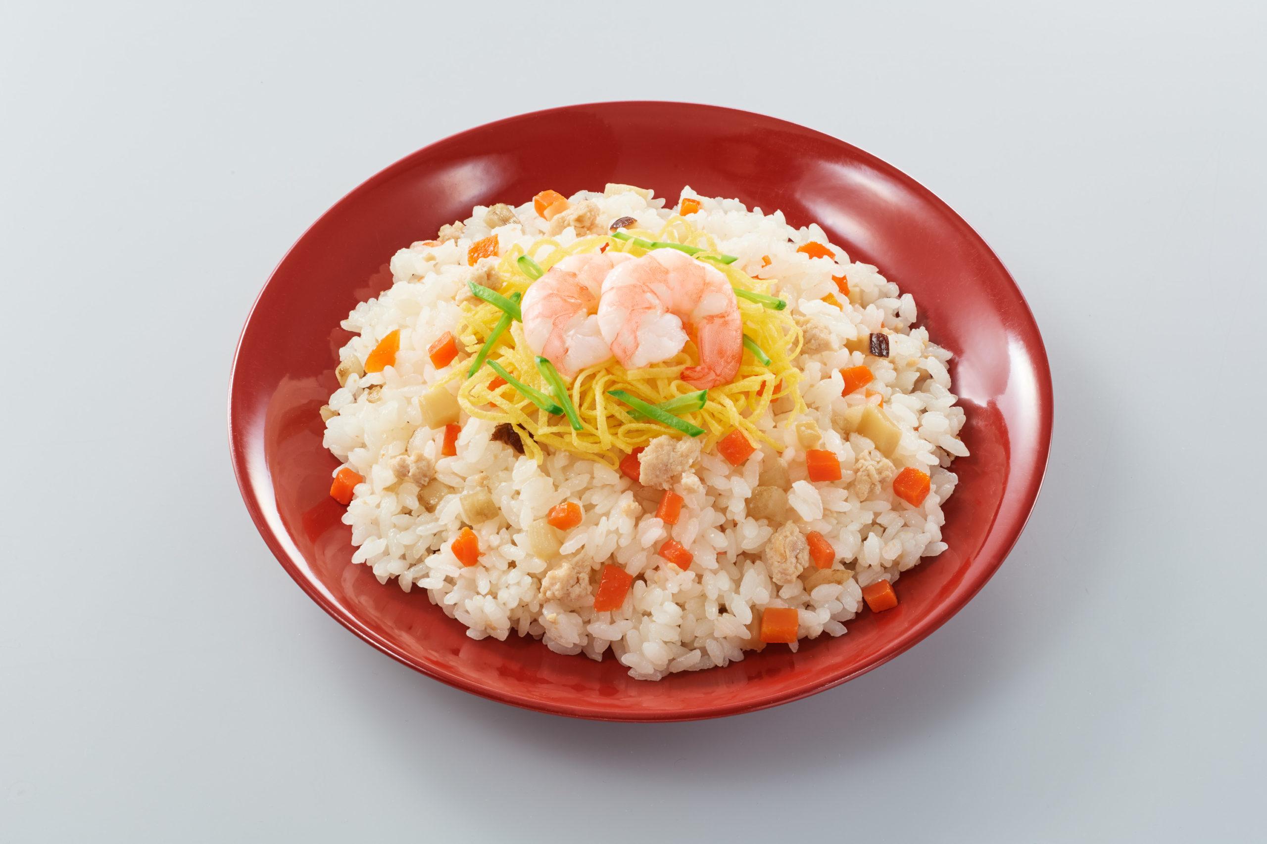 国産素材を使ったちらし寿司_調理例