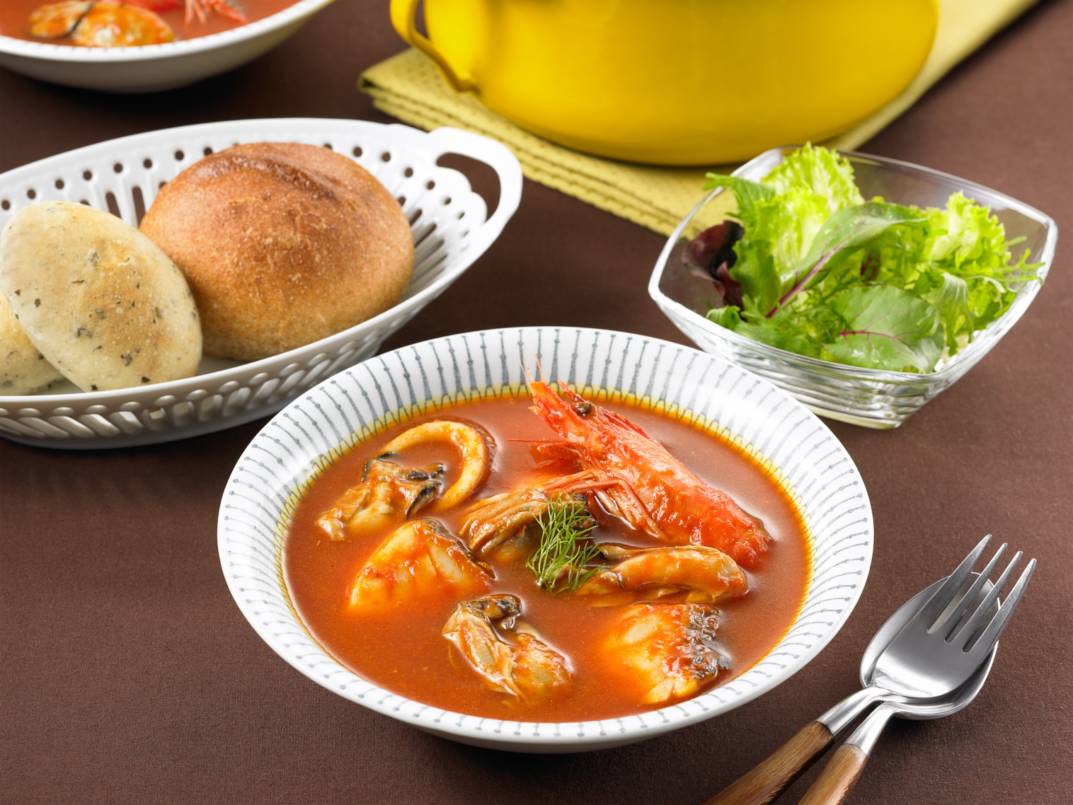 ブイヤベース用スープ 盛り付けイメージ