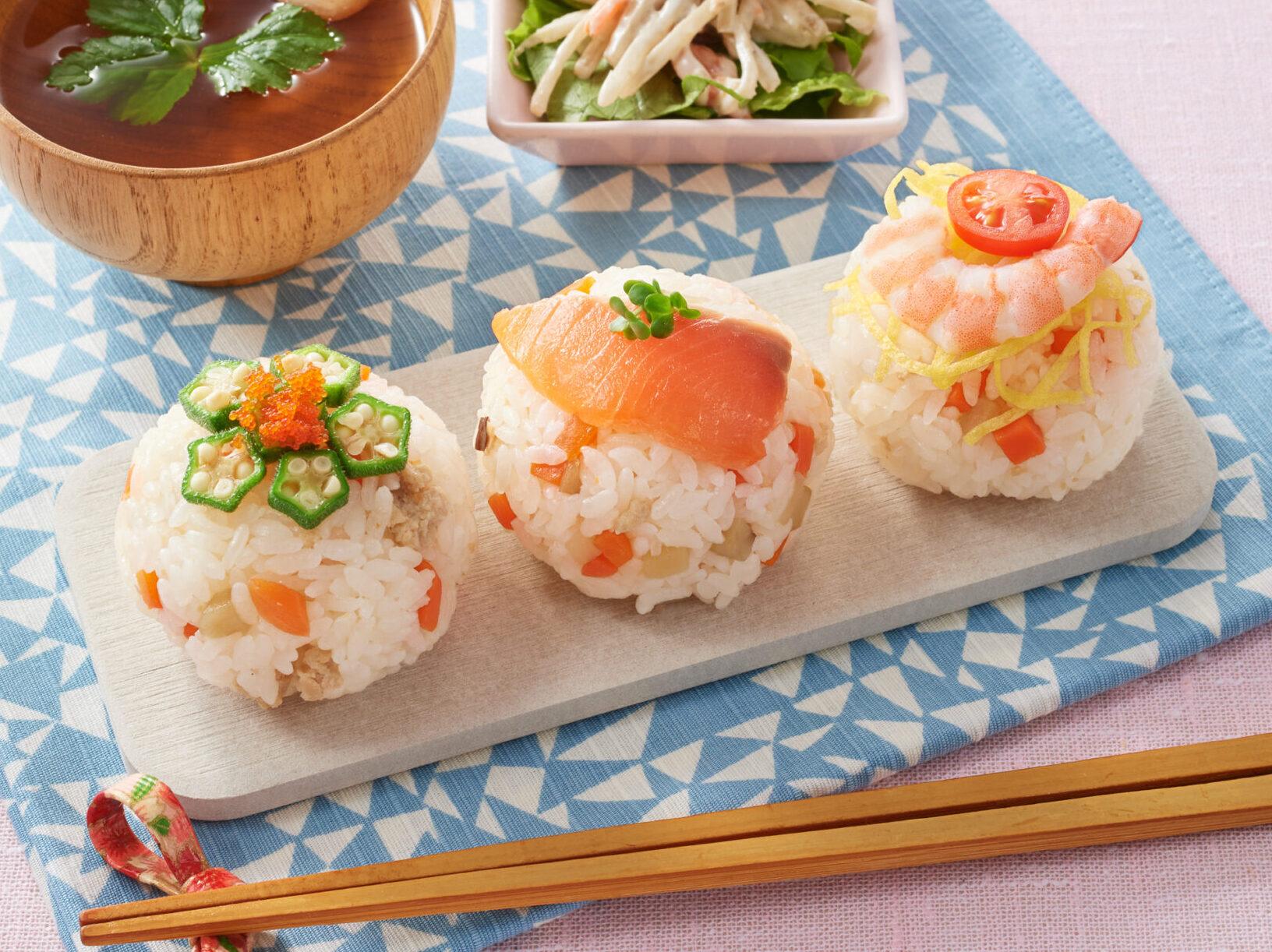 お祝いごとにもぴったりな手まり寿司