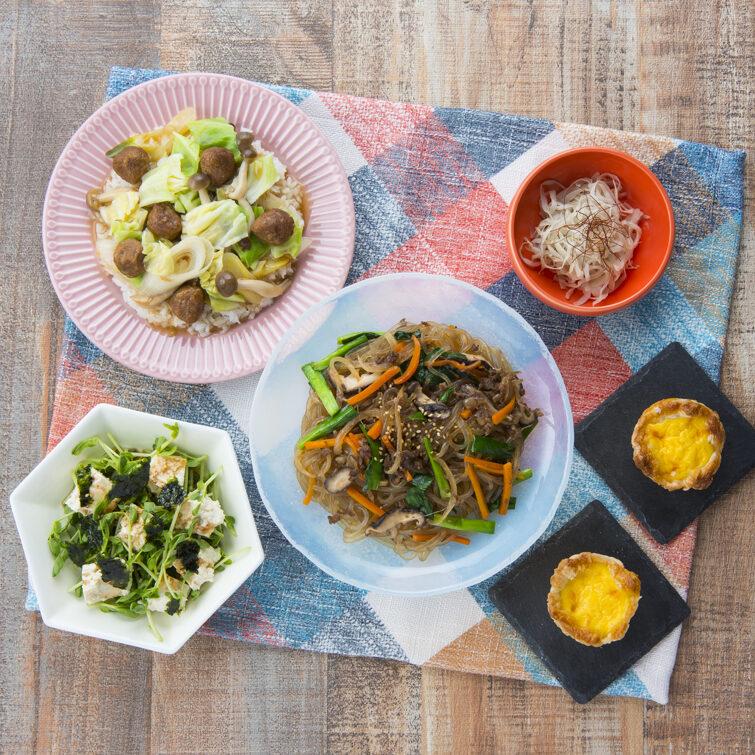 春野菜を使っておうちで楽しむアジア料理